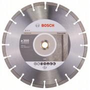 Диск диамантен за рязане Standard for Concrete, 300 x 20/25,40 x 2,8 x 10 mm, 1 бр./оп., 2608602543, BOSCH