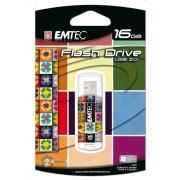 Memory stick USB 2.0 - 16GB EMTEC Hi Speed C310 Collector