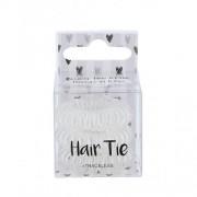 2K Hair Tie 3 ks špirálovité gumičky do vlasov pre ženy Clear