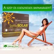 beta-SOLAR® - Napozóvitamin Világszabadalommal!