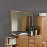 Spiegel aus Erle Teilmassiv Facettenschliff