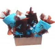 Salomé Prestige Coffret Cadeau chocolat turquoise