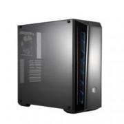 Кутия CoolerMaster MasterBox MB520, ATX, Micro-ATX, Mini-ITX, 2x USB 3.0, синя, без захранване