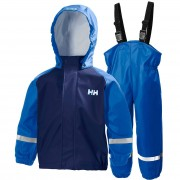 Helly Hansen Kids Bergen Pu Rainset 92/2 Blue