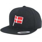 Forza Keps Danish Flag Black Snapback - Forza - Svart Snapback