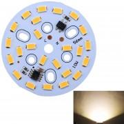 10W 24 LEDs SMD Ericsson 3000K Dimmable LED Bombilla Lampara Techo Modulo Panel Fuente De Iluminacion Modificada Instalación Conveniente, AC 220 - 240V (blanco Calido)