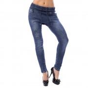 V&V Harémové jeans kalhoty s hvězdami (36) - V&V