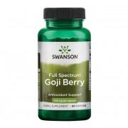 Swanson Goji (Wolfberry) 500 mg 60 kapslí