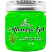 Meralite Aloe Vera Multipurpose Gel for Skin and Hair (100 g) (ML-GREEN ALOEVERA-100GM)