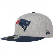 New Era 59Fifty Reflective Patriots Cap NFL New England Basecap Baseballcap Flat Brim Fitted