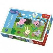 Puzzle Peppa Pig 30 piese - Descopera padurea
