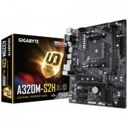 MB, GIGABYTE GA-A320M-S2H /AMD A320/ DDR4/ AM4