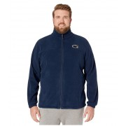 Columbia College Big amp Tall Penn State Nittany Lions CLG Flankertrade III Fleece Jacket Collegiate Navy