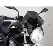 Cockpit - Universal Motorcycle Screen for Naked Bikes: Smoke 04807B