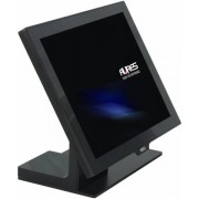 Sistem POS touchscreen Aures Yuno, Projected Capacitive, J1900, No OS, negru