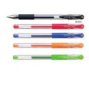 Uni-ball Signo Um-151 Gel Ink Pen - 0.38 Mm - (Set of 5color)