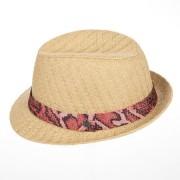 SEEBERGER cappello da donna con tesa piccola trilby Nadine firmato Seeberger