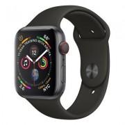 Apple SmartWatch APPLE Watch Series 4 GPS+Cellular Koperta 40 mm z aluminium w kolorze gwiezdnej szarości z paskiem sportowym w kolorze czarnym MTVD2WB/A