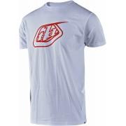 Troy Lee Designs Logo T-Shirt Vit Röd L