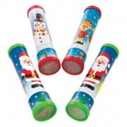 Baker Ross Christmas Kaleidoscopes (Pack of 4)