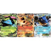 Pokemon XY Card Game Single Set of all 3 EX 2015 Fall Tin Holo Promo Cards [XY28