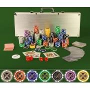 Zestaw do gry w pokera 500 szt.