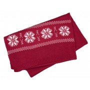 Gebreide sjaal met stermotief
