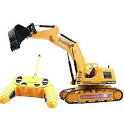 Super Power R/C Excavator JCB Toy Truck (Yellow Black)