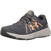 Under Armour Women's Dash RN 2 Rhino Gray and Playful Peach Sneakers - 3.5 UK/India (36.5 EU)