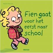 Deltas Fien gaat voor het eerst naar school