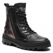 Туристически oбувки PALLADIUM - Pallabosse Hi Zip 95941-732-M Antic Gold/Black/Black