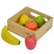 Дървена кутия Eichhorn, с плодове, 043182