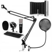 auna CM003 Set Microfono V5 Condensatore XLR Braccio nero