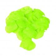 Confezione 288 petali in tessuto color verde mela