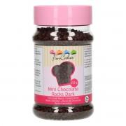 FunCakes Mini Chocolade Rocks -Puur- 225g
