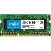 RAM SODIMM DDR3 8GB PC3-10600 1333MHz CL9 Crucial for Mac & PC, CT8G3S1339M