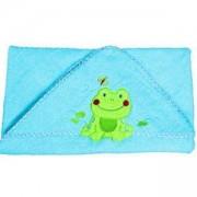 Бебешка хавлия за баня с качулка - синя, 170 03 Babyono, 7930030