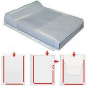 Grafoplás Funda perforada Grafoplás transparente pvc 150 micras 5 unidades