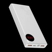 BASEUS Mulight Digital Display Quick Charge Power Bank 45W 20000mAh - White
