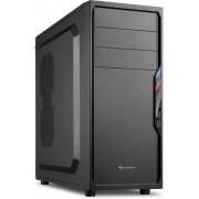 Sharkoon VS4-S Midi-Toren Zwart computerbehuizing