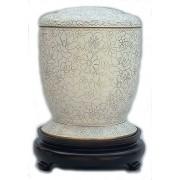 Exclusieve Cloisonne Urn Vergeet Mij Nietjes (4.2 liter)