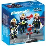 Комплект Плеймобил 5366 - Противопожарен екип, Playmobil, 291104