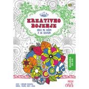 Bojanka kreativno bojenje Cveće