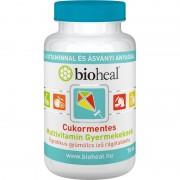 Bioheal Cukormentes Multivitamin Gyermekeknek gyümölcs ízű rágótabletta 70-db