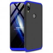 GKK 360 Protection telefon tok hátlap tok Első és hátsó tok telefon tok hátlap az egész testet fedő Xiaomi Mi Játssz fekete-kék