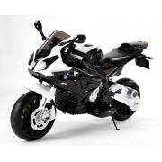 Minunat, licențiat, motor electric BMW S 1000 RR cu detalii realiste și roți auxiliare detașabile.