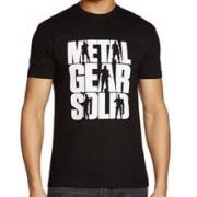 Tricou Metal Gear Solid Logo Marime L