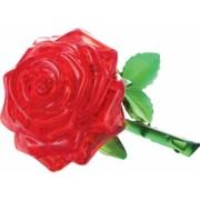 Puzzle 3D floare rosie din plastic cristalin 14 ani+ Topi Dreams