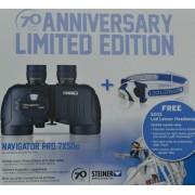 STEINER Binóculos Navigator Pro 7X50 Compasso + Lâmpada Frontal