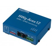 HWG-ARES12 GSM THERMOMETRO GPRS MONITOREO ALIMENTACION DE RESPALDO